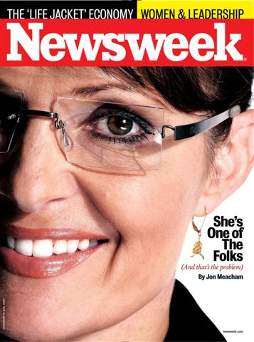 NEWSWEEK cover on Sarah Palin (Small).jpg